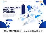 modern flat design isometric... | Shutterstock .eps vector #1283563684