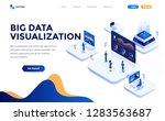 modern flat design isometric... | Shutterstock .eps vector #1283563687