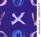 seamless pattern. vector... | Shutterstock .eps vector #1283576974