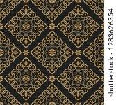 vector seamless pattern. luxury ...   Shutterstock .eps vector #1283626354