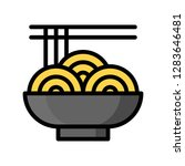chinese noodle vector  chinese...   Shutterstock .eps vector #1283646481