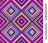 crazy squares   bright...   Shutterstock .eps vector #1283660494