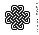 chinese knotting vector ...   Shutterstock .eps vector #1283663911
