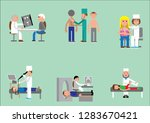 doctors and patients therapist  ... | Shutterstock .eps vector #1283670421