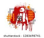 playerunknown's battlegrounds   ... | Shutterstock .eps vector #1283698741