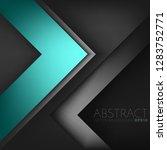 green turquoise vector... | Shutterstock .eps vector #1283752771