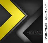yellow vector background... | Shutterstock .eps vector #1283752774