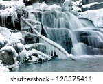Little Cascade With Ice And...