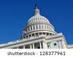 Stock photo washington dc capitol hill 128377961