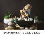 portable indoor fountain for... | Shutterstock . vector #1283791237