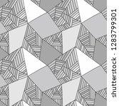 seamless vector pattern  lined... | Shutterstock .eps vector #1283799301