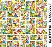 seamless vector pattern  lined... | Shutterstock .eps vector #1283799334