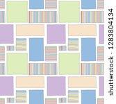 seamless vector pattern.... | Shutterstock .eps vector #1283804134
