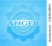 anger sky blue water emblem... | Shutterstock .eps vector #1283818891