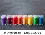 bright colourful powdered...   Shutterstock . vector #1283822791