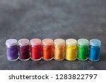 bright colourful powdered...   Shutterstock . vector #1283822797
