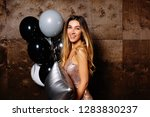 inside portrait of happy... | Shutterstock . vector #1283830237