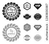 money back guarantee  vip ... | Shutterstock . vector #1283830387