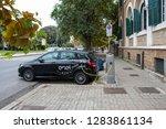 electric mercedes benz of e go... | Shutterstock . vector #1283861134