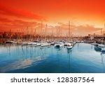 Port Vell   Marina In Barcelona....