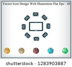 mail tablet  vector illustration