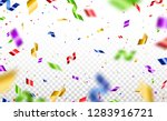 colorful serpentine and... | Shutterstock .eps vector #1283916721