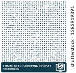 commerce and shopping vector... | Shutterstock .eps vector #1283919391