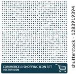 commerce and shopping vector... | Shutterstock .eps vector #1283919394