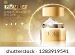 hydrating facial cream for... | Shutterstock .eps vector #1283919541