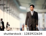 confident mid adult businessman ... | Shutterstock . vector #1283922634