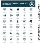 search engine optimisation... | Shutterstock .eps vector #1283926954