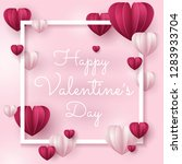 illustration of love and...   Shutterstock .eps vector #1283933704