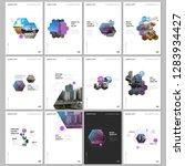 minimal brochure templates with ...   Shutterstock .eps vector #1283934427