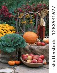 Fall Garden Display  Ornamental ...