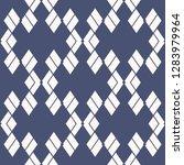 rhombus pattern. vector... | Shutterstock .eps vector #1283979964