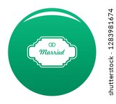 married label icon. simple...   Shutterstock .eps vector #1283981674