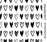 vector seamless pattern drawing ... | Shutterstock .eps vector #1283989981