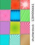 comic book vertical composition ... | Shutterstock .eps vector #1284006661