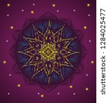 colorful mandala for graphic...   Shutterstock .eps vector #1284025477