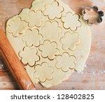Process Of Baking Cookies At...