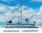 marine navigation equipment....   Shutterstock . vector #1284039037