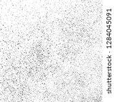 black grainy texture isolated... | Shutterstock .eps vector #1284045091