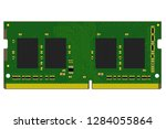 ddr4 so dimm pcb design with... | Shutterstock . vector #1284055864