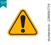 warning icon in trendy flat... | Shutterstock .eps vector #1284061714