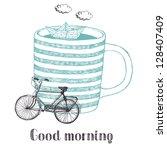 good morning   Shutterstock .eps vector #128407409