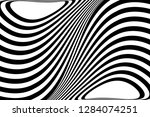 abstract black and white... | Shutterstock .eps vector #1284074251