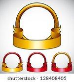 simplistic round emblem with...