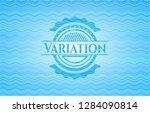variation water wave concept... | Shutterstock .eps vector #1284090814