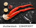 Gourmet Seafood. Cooked King...