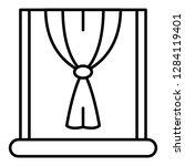 Window Node Curtain Icon....